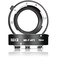 Meike MK-F-AF3 10mm 16mm Macro Extension Tube Metal Auto Focus for Fujifilm X Mount Series Mirrorless Cameras