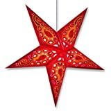 Lotus Hanging Paper Star Lantern/Lamp