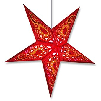 Lotus Hanging Paper Star Lantern Lamp