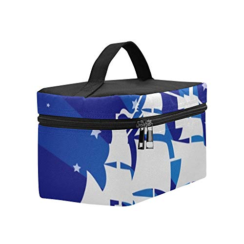 Christopher Columbus Day Lunch Box Tote Bag Lunch Holder Insulated Lunch Cooler Bag For Women/men/picnic/boating/beach/fishing/school/work