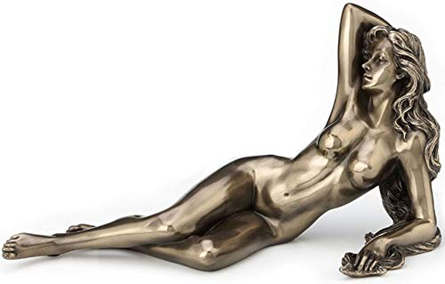Veronese Nude Female Lying Pose Sculpture