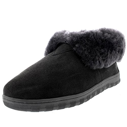 Polar Products Mens Real Warm Ankle Boot Winter Slippers Gray ufl16B2ylV