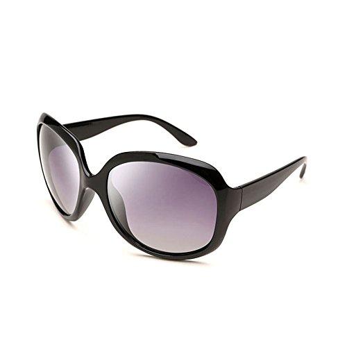 Color la la de de de Sra DT polarizadas conducen Que de Vintage Sol vidrios Gafas los Gafas Sol Cara Redondas 1 8XqnH7