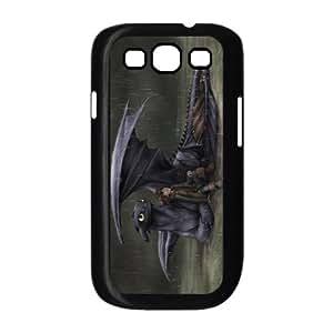 Custom Cartoon Movie How To Train Your Dragon Back Case for SamSung Galaxy S3 i9300 JNS3-908