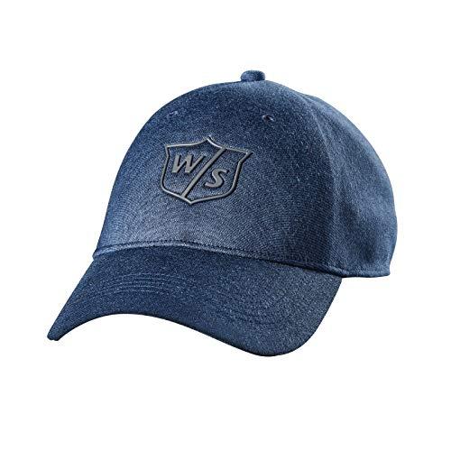 Wilson Staff One Touch Golf Cap, Denim Blue from Wilson