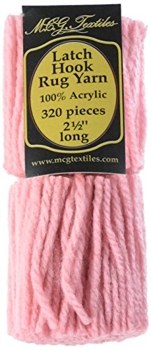 Textiles Latch Hook Yarn Pink