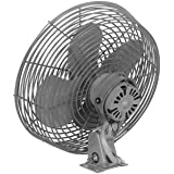 Marley N12 12 inch Navy Wall and Bench Mount Air Circulator - 2 Speed: High 2200 CFM Low 1500 CFM