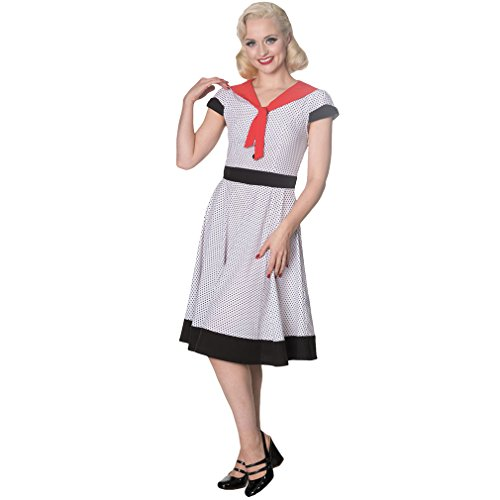 Kleid Weiß Insider The Days Weiß Vintage Dancing YRwqEx1x