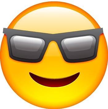 smiley face emoji cool face amazon com