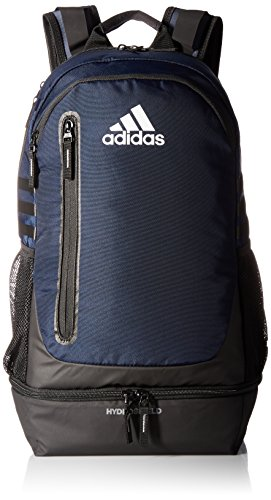 adidas Pivot Team Backpack, Collegiate Navy/Grey/Neo White, One Size