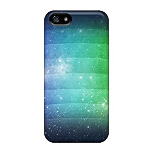 Pretty PVm1073iaYD Iphone 5/5s Cases Covers/ Space Rainbow Series High Quality Cases