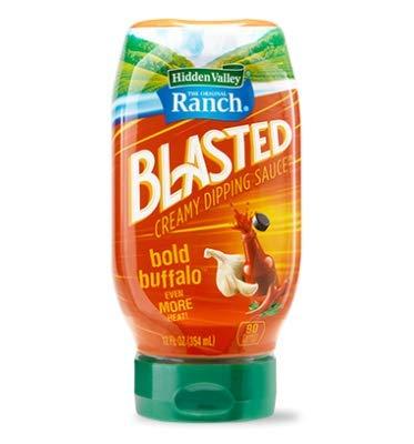 Hidden Valley Ranch Blasted Bold Buffalo Creamy Dipping Sauce, 12 Ounces (Best Ranch Dipping Sauce)
