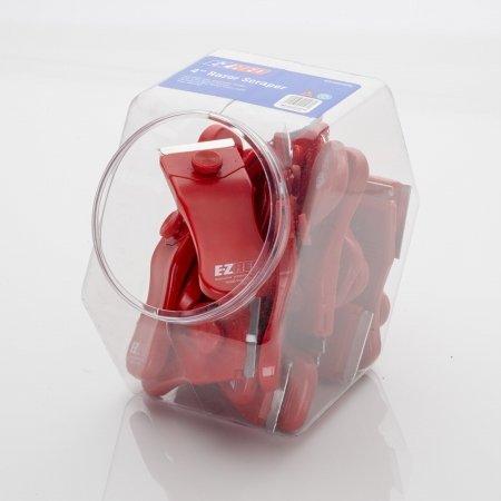 E-Z Red Razor Scraper Display Bowl MS400-20PK