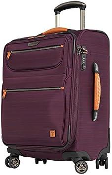 Ricardo Beverly Hills San Marcos 21-inch 4-Wheel Wheelaboard Luggage Violet Purple