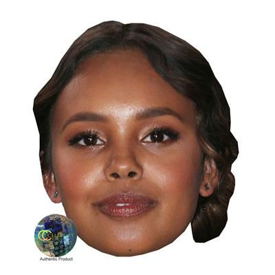 Alisha Boe Superstar Mask, Card Face and Fancy Dress Mask