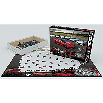 EuroGraphics 2014 Corvette Singray: It Runs in the Family Jigsaw Puzzle (1000-Piece): Toys & Games