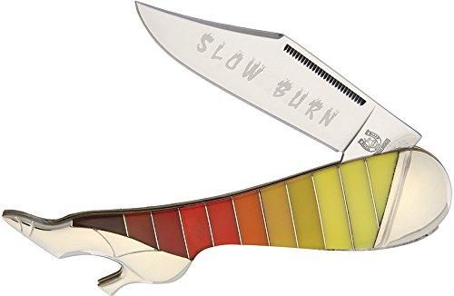 Rider Rough Leg (Slow Burn Leg Knife)