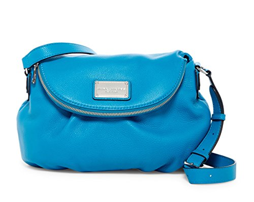 by Natasha Handbag Turquoise Marc Leather Jacobs Marc Large TRFvwqvd