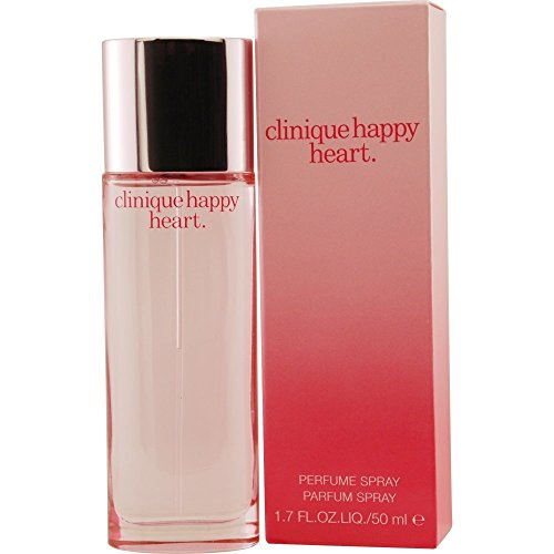 Happy Heart By Clinique For Women. Parfum Spray 1.7 Ounces