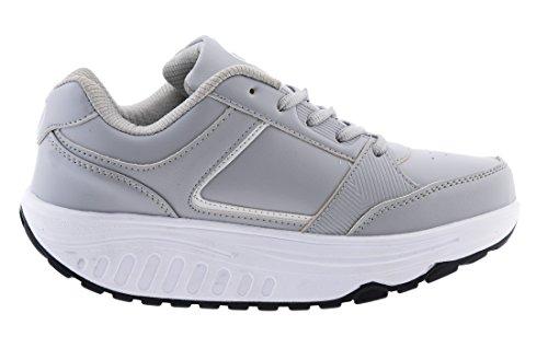 Bianco Eglemtek Sport Amincissant Chaussures Tm Nouveau Grigio Bien Lames Fesses Fitness Rassoda tre OWaa4Pt1