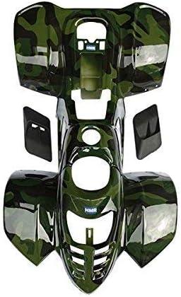 Hmparts Quad Atv Quad de Ni/ño 50-110cc Pl/ástico Kit Colores de Camuflaje