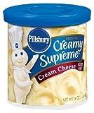 Pillsbury, Creamy Supreme, Cream Cheese Frosting, 16oz Tub (Pack of 3)