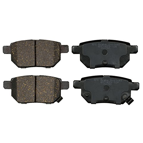 KFE Ultra Quiet Advanced KFE1423-104 Premium Ceramic REAR Brake Pad Set