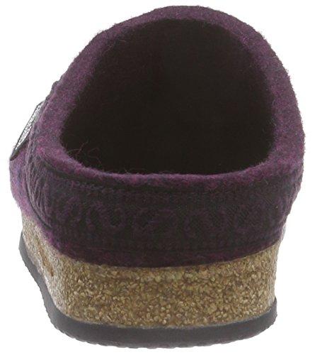 Stegmann Stegmann 108 17801 - Pantuflas de fieltro unisex Violeta - violeta