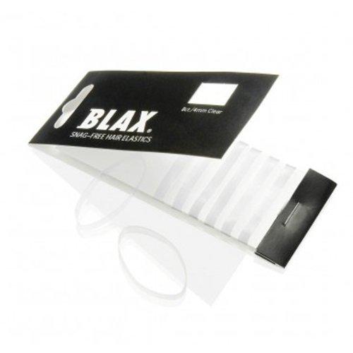 - Blax CLEAR Hair Elastics 4mm, 8 ct by Blax
