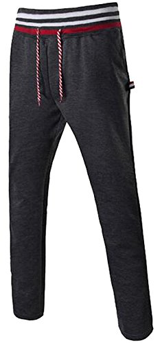 Glamour Dresses Australia (ZFTYOO Mens Outdoor Running Jogger Contton Pants Sweatpants Dark Grey(US)Medium Pretty)