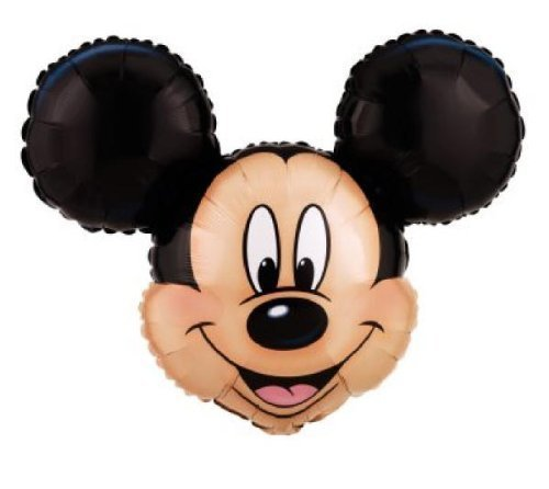 Mickey Mouse Head Shaped Foil Balloon Jumbo 27