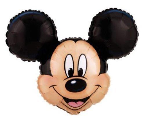 Head Jumbo - Mickey Mouse Head Shaped Foil Balloon Jumbo 27