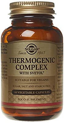 Solgar Thermogenic Complex With Svetol 60 Capsules