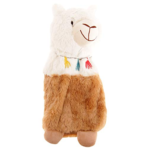 Slumberzzz Llama Plush Hot Water Bottle Cover (One Size) -