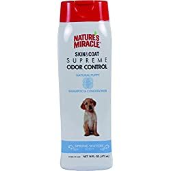 Nature's Miracle Supreme Odor Control Puppy Shampoo, 16 oz.