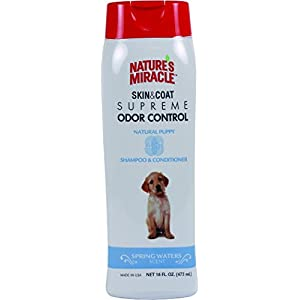 Nature's Miracle Supreme Odor Control Puppy Shampoo, 16 oz. 120