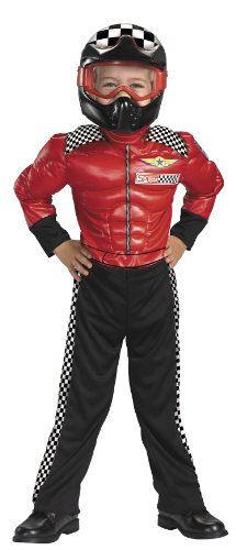 [Turba Racer Toddler Costume] (Childs Racing Driver Costume)