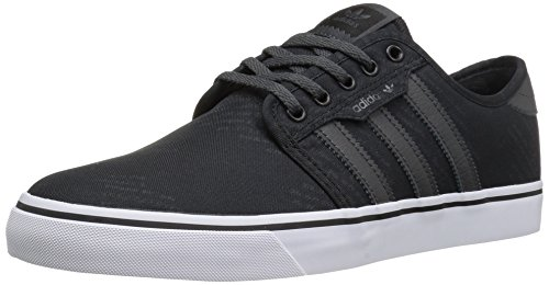 adidas Originals Men's Seeley Fashion Sneakers Black/Dark Grey Heather Solid Grey/White with paypal cheap price comfortable sale online clearance 2014 unisex buy cheap countdown package GUD4d5nI2E