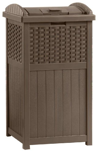 Suncast Outdoor Trash Hideaway (33 Gallon Waste Receptacle)