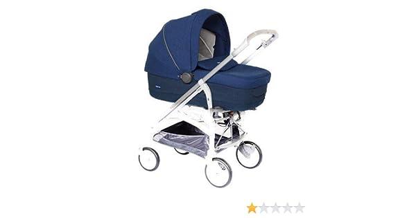 Inglesina Trilogy Travel system pram 1seat(s) Azul, Color blanco - Cochecito (Travel system pram, 1 seat(s), Azul, Color blanco, UMPC, Inflatable wheels, ...