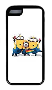 iphone 6 plus Case, iphone 6 plus Cases - Durable Protective Black Soft Rubber Back Case for iphone 6 plus Despicable Me 16 Utral Slim Soft Back Bumper Case for iphone 6 plus