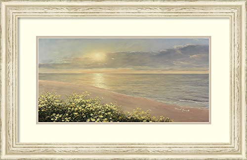 Amanti Art Peaceful Waters by Diane Romanello Framed Art Print