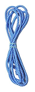 Chinese Jump Rope for Kids - Elastic Fitness Game - by B&D Supply (Blue, 8 Foot (Single))