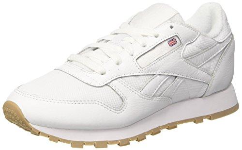 Leather Blanc Running Reebok Estl Chaussures Cassé De Classic white Homme BwHH5qx0Pn
