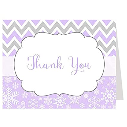 winter chevron thank you cards baby shower baby shower thank you cards purple