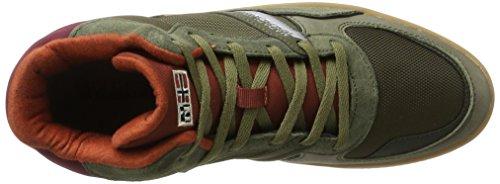 Dark Collo Sneaker NAPAPIJRI N730 FOOTWEAR Olive Verde Alto Uomo a Nestor nPqnFxwT8p