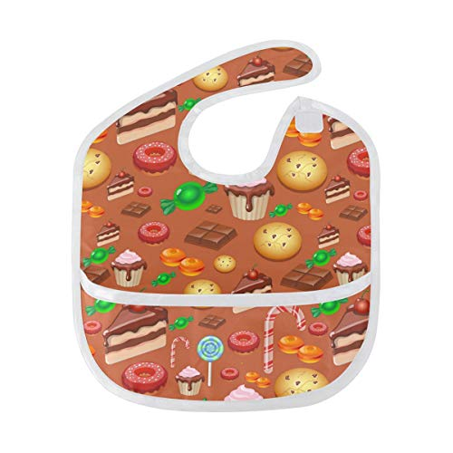 (Halloween Cake Decorating KitBaby Spit Bib Super Absorbent and Soft Saliva Towel Ffor Drooling Boys and Girls Cute Baby)