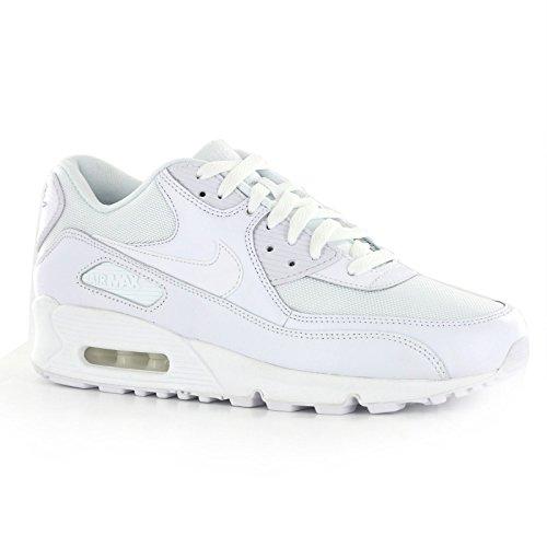Nike Men's Air Max 90 Essential, White, US 7.5
