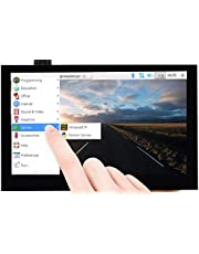 4,3 inch Capacitieve Touchscreen voor Raspberry Pi Serie en CM3/3+ 800 × 480 IPS Groothoek MIPI DSI Interface Tot 5-Punten Touch Driver Gratis