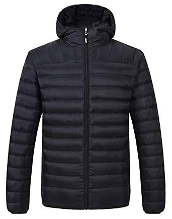 TBMPOY Men's Winter Puffer Down Jacket Lightweight